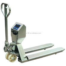 Stainless Hand Pallet Jack with Weighing Scale