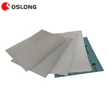 Latex waterproof abrasive paper for hand polishing