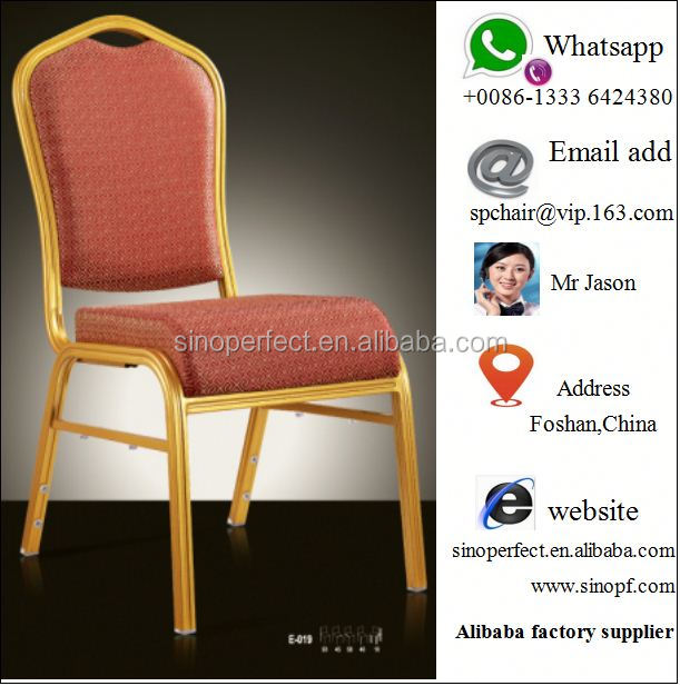 aluminum banquet chair and steel chair
