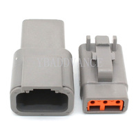 Deutsch DTM Series 3 Pin Way Connector Male & Female DTM04-3P-E003 DTM06-3S-E007