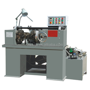 Hydraulic thread rolling machine for Anchor bolts making