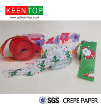 color crepe paper streamer &hand throw for Celebrations/ fashion show /wedding /party paper/ decoration