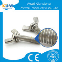 M3 M4 M5 M6 stainless steel DIN316 wing butterfly screws