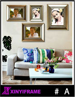 Cute weddings double heart photo frame christian picture frames