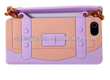 For iphone 5g silicone handbag case