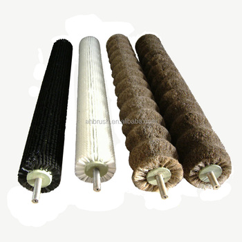 Glass pretreatment fruit roller brush with good quality