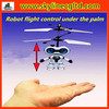 Single channel flying space robot toy,flight control under the palm