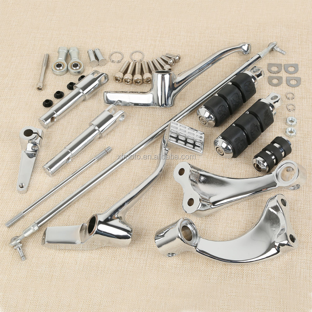 Forward Controls Complete Kit Pegs Levers Linkage For Sportster 2004-2013