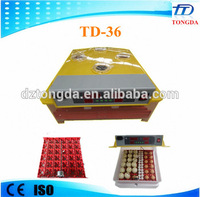 Best selling automatic mini 36 incubator for poultry egg hatching