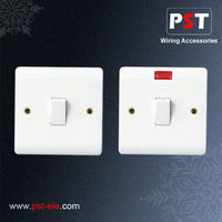 Electrical Wall 20A 1 Gang Double Pole Switch