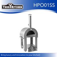 SS outdoor wood fired pizza oven