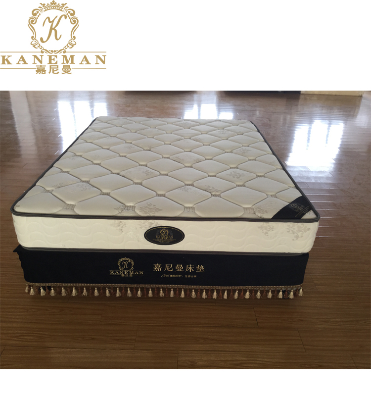 Great Quality Cheap Price High Density Foam With Continuous Spring Mattress Flat Compress On A Wooden Pallet - Jozy Mattress | Jozy.net