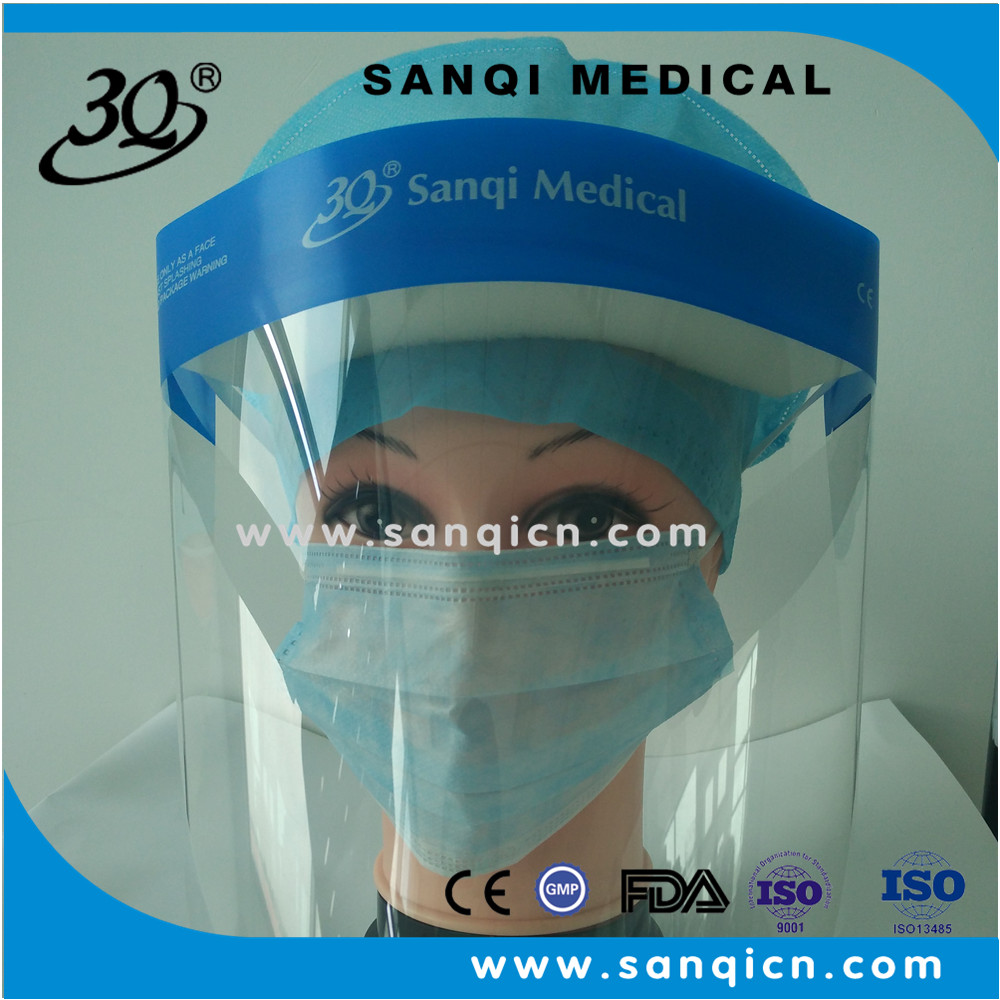 Sanqi transparent safety face shield