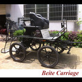 European Style Smart Horse carriage manufacturer