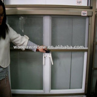 Wanjia factory sale aluminium mosquito rolling net window