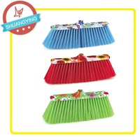 Floor and grass Material and Garden Broom Cleaning Tool Type plastic handle broom SY-3650