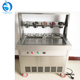 Industrial Two Square Pan High Efficiency Mobile Juice Sorbet Ice Cream Machine Thailand style Ice Cream Roll Making Machine