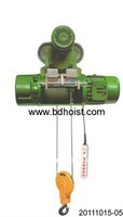 Equipment used for workshop CD1 electric hoist