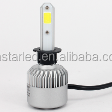 S2 H3W Led Light Headlight for Cars 8000LM with fan