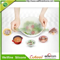 2014 fashion silicone preservative food grade plastic wrap,silicone best fresh wrap