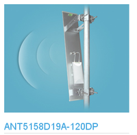 long range high gain 5GHz 19dBi MIMO Sector Antenna use with Ubiquiti Nano station loco m5 / rocket m5