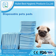 Disposable non woven comfortable cat dog puppy leak proof pet pads