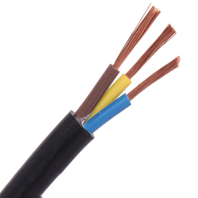flexible price high voltage pvc electric wire price power rvv cable