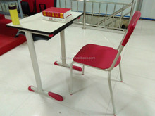2016 New Design School Desk and Chair used Kindergarten School Furniture