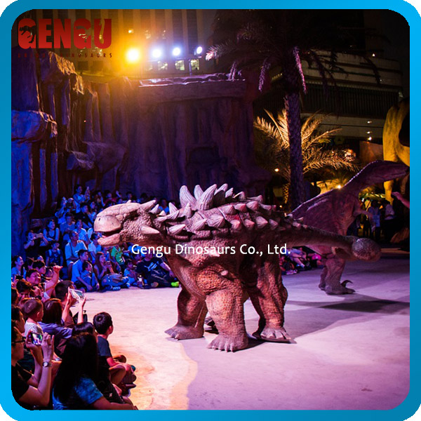 Amusement Park Giant Inflatable Dinosaur Costume For Sale