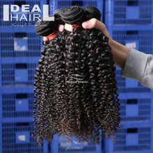 Ideal hair products 12inch to 36inch 6a virgin hair brazilian afro