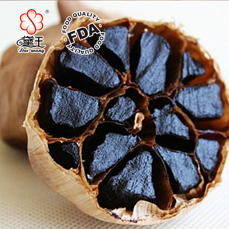 natural organic black-gar Aged black Garlic