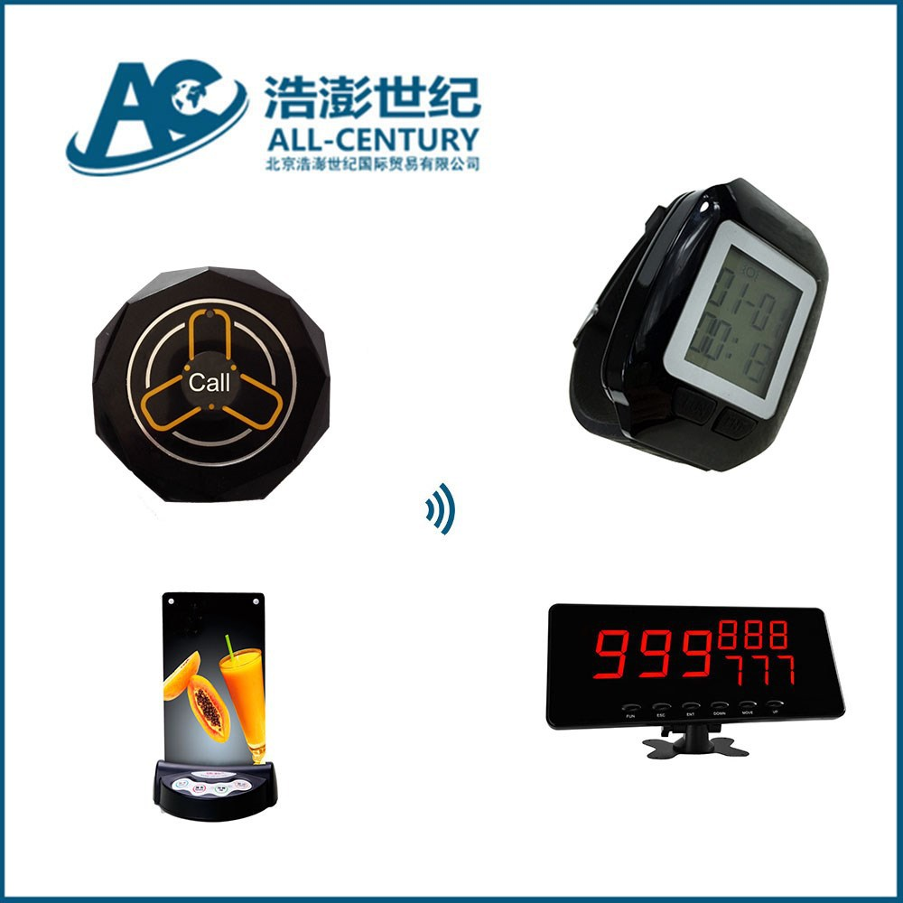 wireless waitress call bell system,guest calling waiter for service,wireless alarm pager