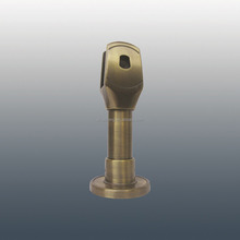 Zinc alloy Hardware support leg For Toilet Cubicle Partition/restroom