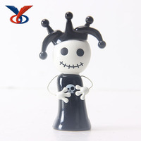 Lovely Small Electric Plastic Clown Toy