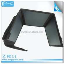 MIQ high efficiency flexible solar panel solar power mobile charger transparent solar panel