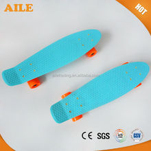 High Quality Fresh Material 22 Inch Plastic Skateboards For Sale