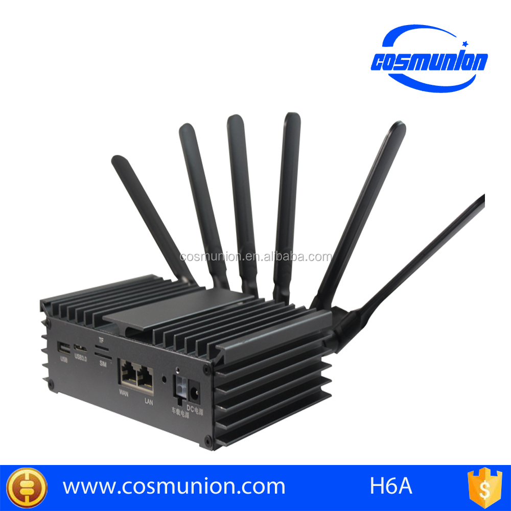 750Mbps 4G LTE industrial wifi bus/car router with sim card slot