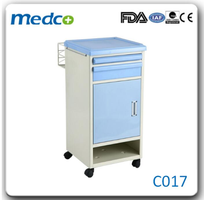 Hospital ABS Bedside Cabinet, Medical bedside locker