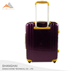 Newest Design Customed Aluminum Frame Trolley Wheels ABS Luggage