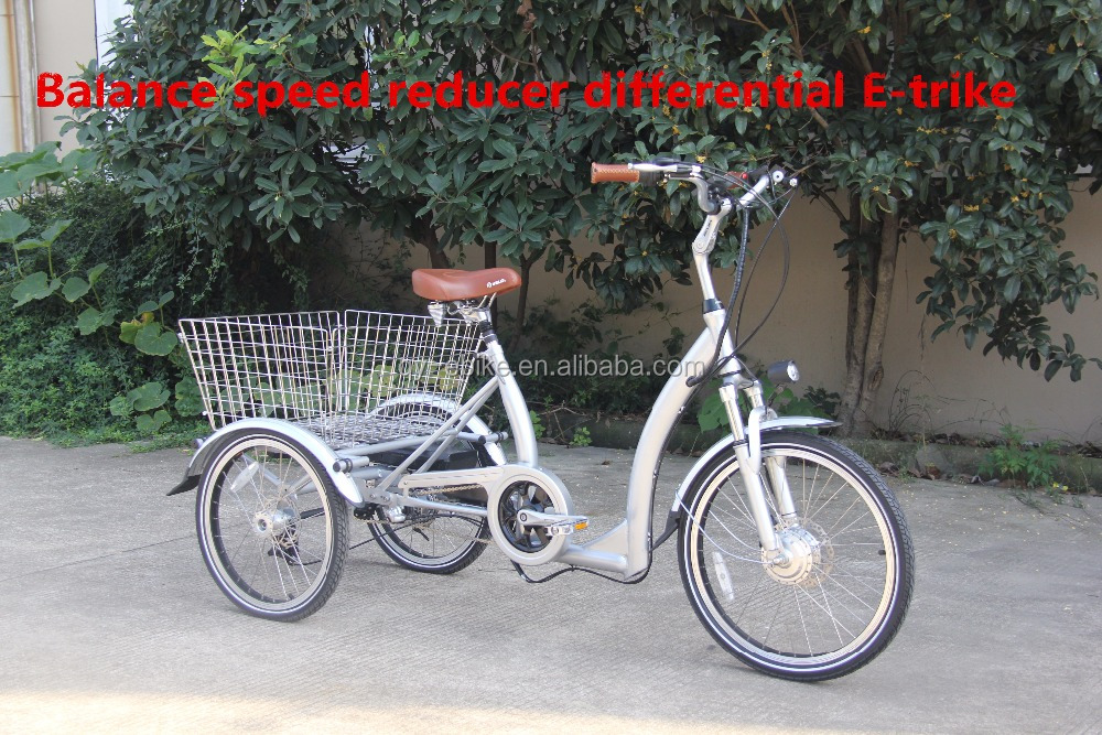 2017 new style 3 wheel electric bicycle/trike for passengers or cargo