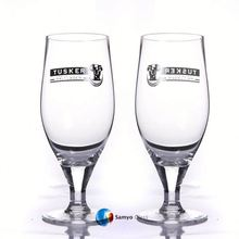 Samyo Handmade Glassware Manufacturer 16oz beer drink glass cup with your decal logo/beer glasses cup/glassware