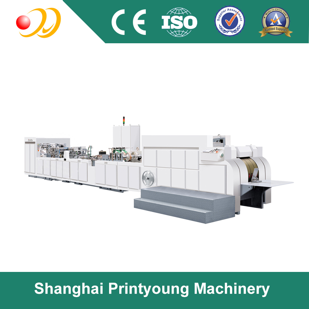 ZD-FP18B Fully automatic industrial gift paper bag making machine