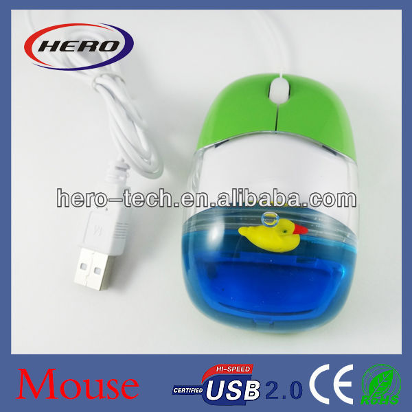 oil mouse with custmized floater PMS