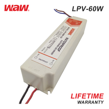 12v 5a 60w waterproof LED driver power supply LPV-60-12 SMPS