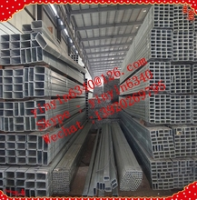 galvanized welded steel square tube@rectangular tube used in greenhouse&structure