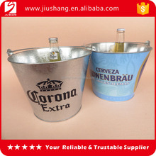 High quality hotel aluminum ice buckets with bottle opener