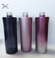 factory price 100 ml 120ml 150ml red purple blue glass cosmetic bottle jar with screw cap