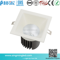 Strong heat dissipation ceiling down light 12W with high quality aluminum