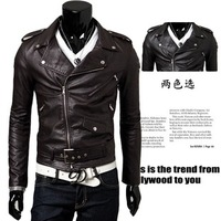 Latest Design Manufacturers Cheap Leather Jackets For Men Low Price