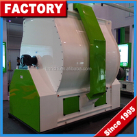 Low Price High Capacity Animal Feed Crusher And Mixer / Feed Grinder And Mixer